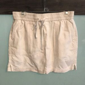 Old Navy linen mini skirt